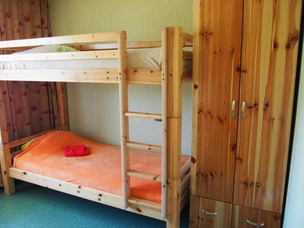 Twin Room with Bunk Beds and Shared Bathroom