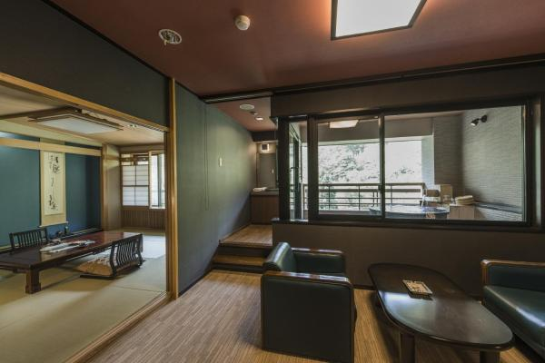 Executive Room with Tatami Area and Open-Air Bath