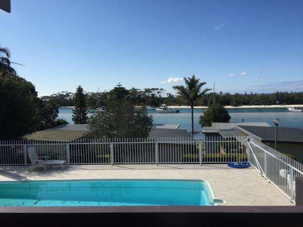 Two-Bedroom Bungalow with Pool View
