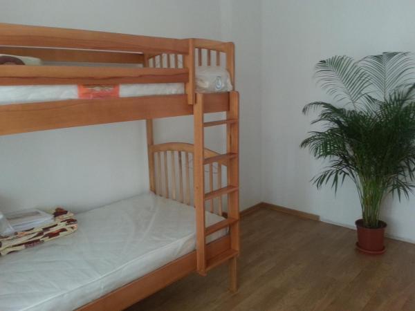 Bunk Bed in Blue Room