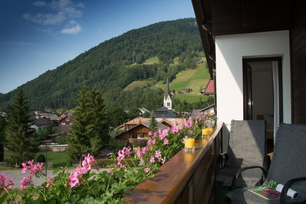 ホテル写真: Gästehaus Lässer, Mellau