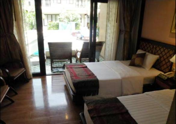 Twin Room with Pool Access - Adults Only
