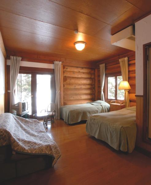 Twin Room - Log Hotel