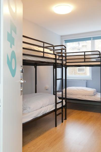 Bunk Bed in 9-Bed Mixed Dormitory Room with Shared Bathroom