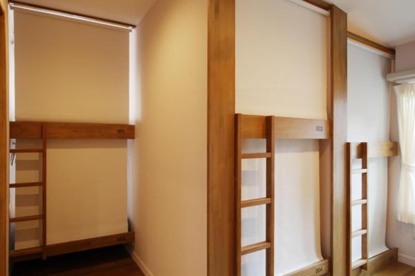 Bunk Bed in 12-Bed Female Dormitory Room