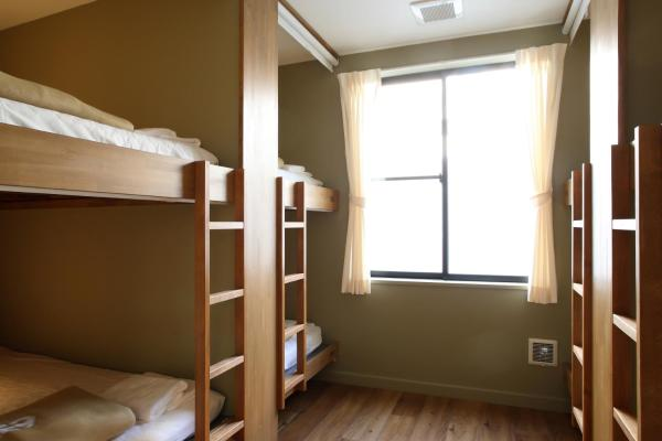 Double Bunk Bed in 8-Bed Mixed Dormitory Room