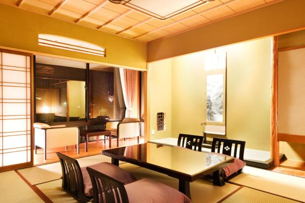 Deluxe Japanese-Style Room with Open Air Bath