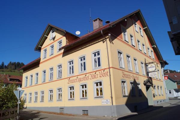 Hotelbilleder: Brauereigasthof Adler Post, Rettenberg