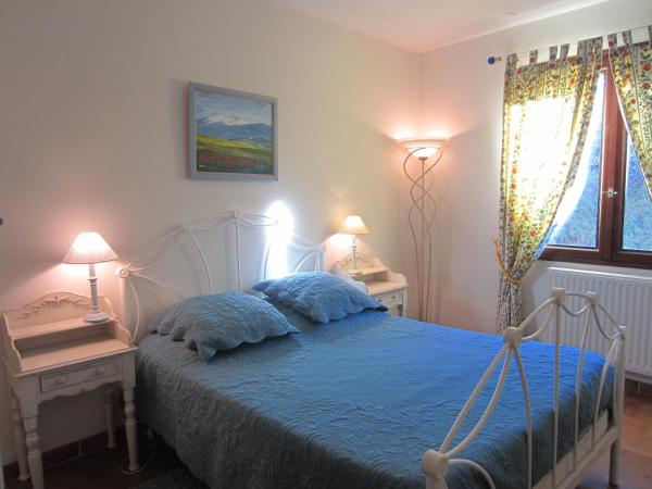 Blue Double Room with Private Bathroom