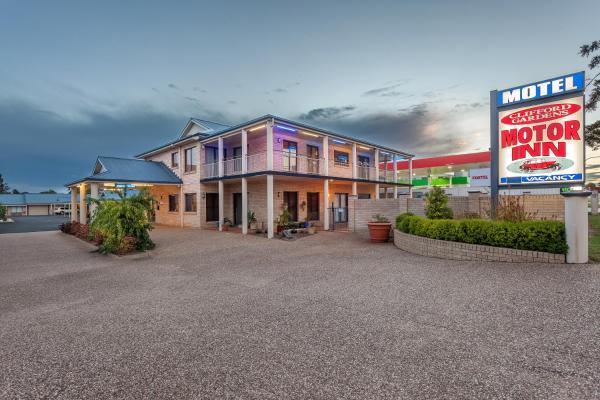 酒店图片: Clifford Gardens Motor Inn, 土乌巴