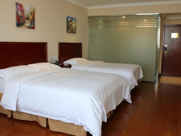 Hotel Pictures: GreenTree Inn Anhui Fuyang Funan East Huaihe Road Express Hotel, Chengjiao