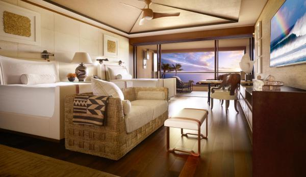 Ocean View Room with Two Double Beds