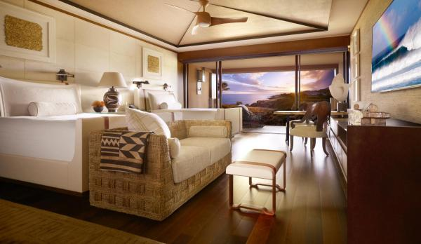 Ocean Front Room with Two Double Beds