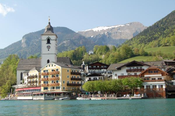 Hotellikuvia: Aberseeblick Pension Ellmauer, St. Wolfgang