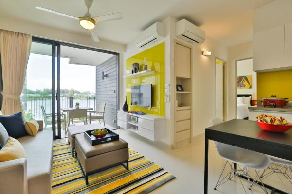 Two-Bedroom Suite with Lagoon or Ocean View
