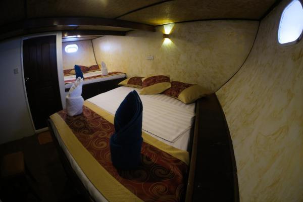 Standard Double or Twin Cabin