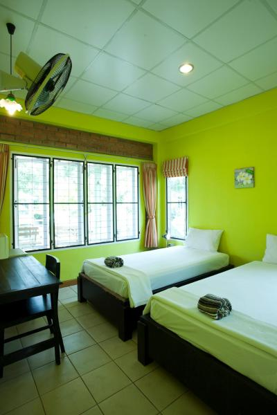 Standard Double or Twin Room with Fan and Shared Bathroom