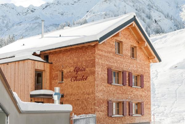 Fotografie hotelů: Alpin Chalet Schröcken, Schröcken