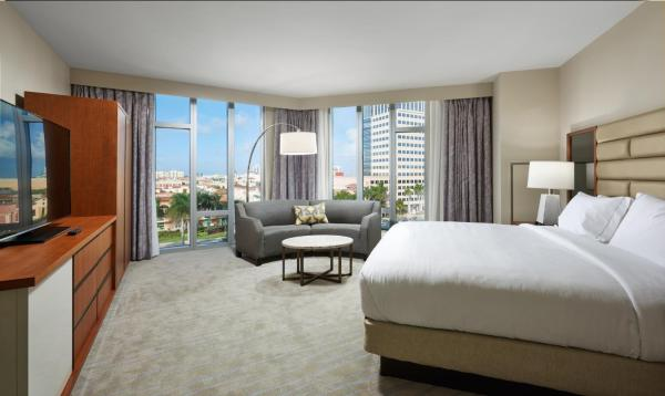 One-Bedroom Premium King Suite with City View