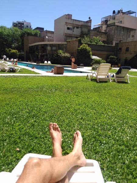 酒店图片: Apartamento Jardines del Libertador Torre - Spa, 布宜诺斯艾利斯
