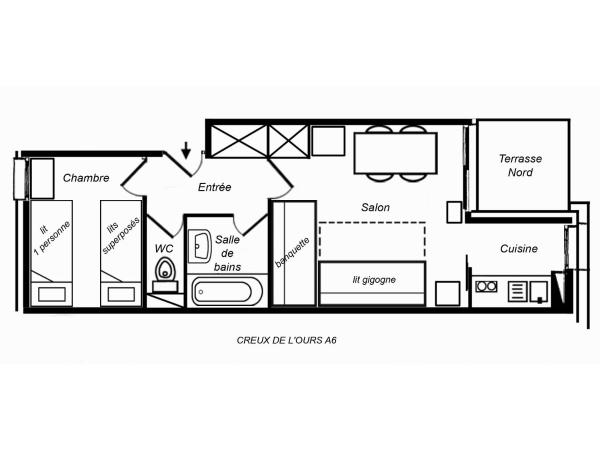 One-Bedroom Apartment