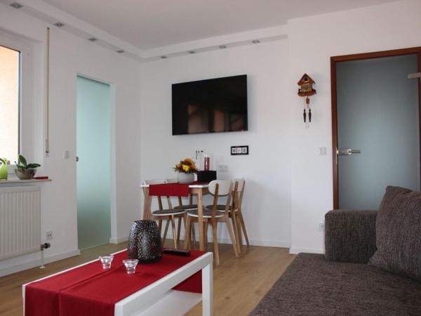 Hotelbilleder: TraumAuszeit - Ferienwohnung Waldblick, Unterreichenbach
