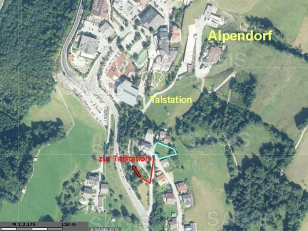 ホテル写真: Apartment Penthouse An Der Piste 5 Alpendorf, Alpendorf