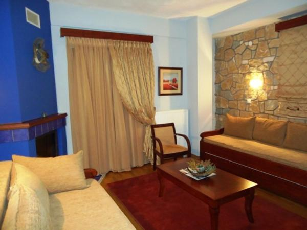 Superior Suite with fireplace and Balcony