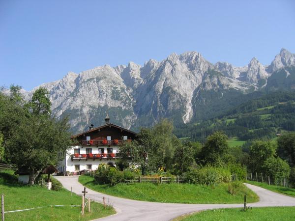 Zdjęcia hotelu: Bio-Bauernhof Rettenbachgut, Werfen