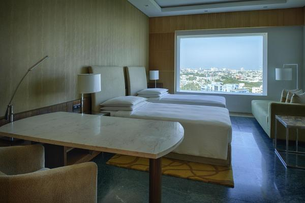 Deluxe Twin Room with View