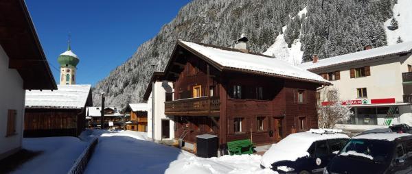 ホテル写真: Montafonerhaus Berg-Glück, Partenen