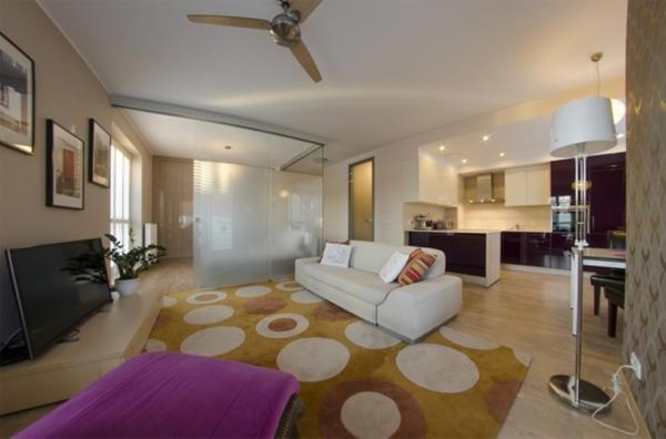 One Bedroom Deluxe Apartment with Balcony and City View