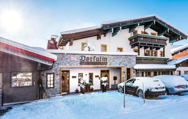 ホテル写真: Pension Restaurant Dorfalm, レオガング