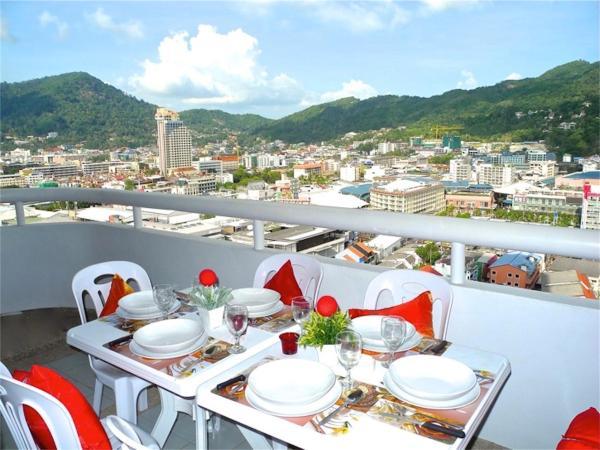 Фотографии отеля: Patong Tower 2 Bedrooms Apartment City View, Патонг Бич