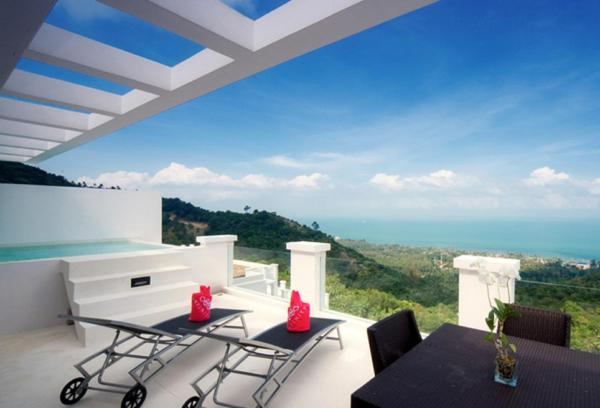 Sea view Penthouse Pool Suite