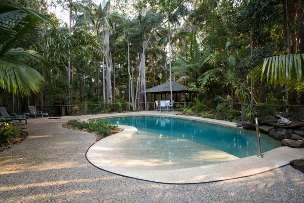 酒店图片: Amore On Buderim Rainforest Cabins, Buderim