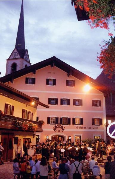 Fotos do Hotel: Gasthof zur Post, Sankt Martin bei Lofer