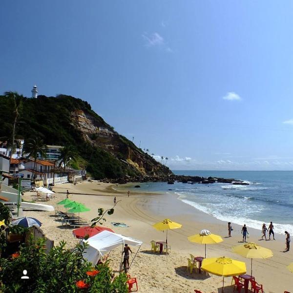 ホテル写真: Apartamento Na 1ª Praia Com Vista, モロ・デ・サンパウロ