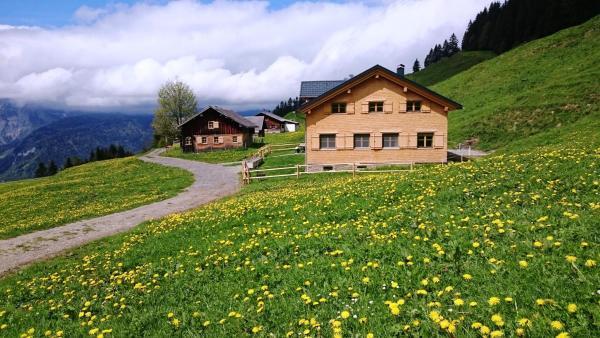 Foto Hotel: Berghof, Bezau