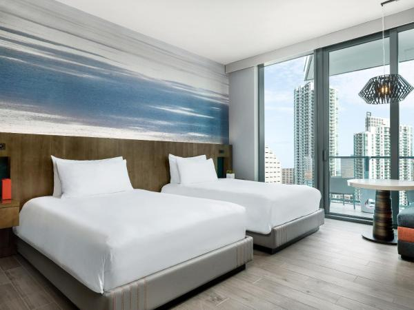 Urban Room with Two Double Beds