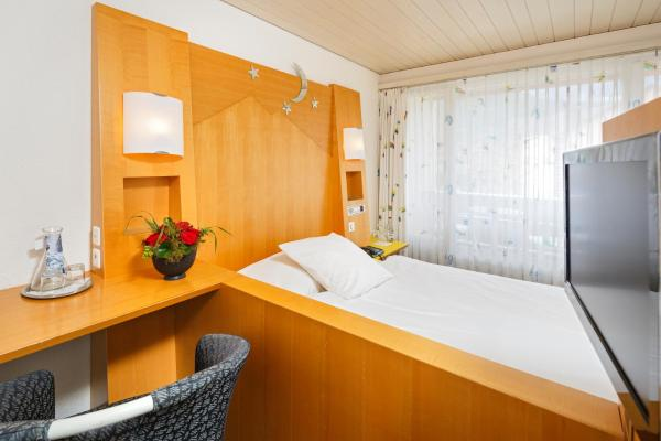 Simple Room with Small Double Bed