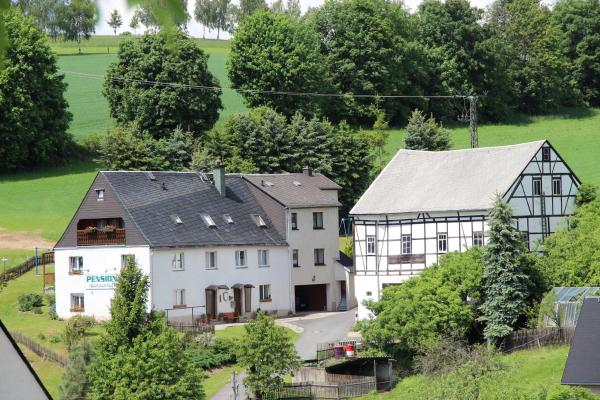 Hotelbilleder: Pension Sonnenhof, Wolkenstein
