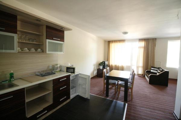 Deluxe One-Bedroom Apartment with Terrace and Sea View