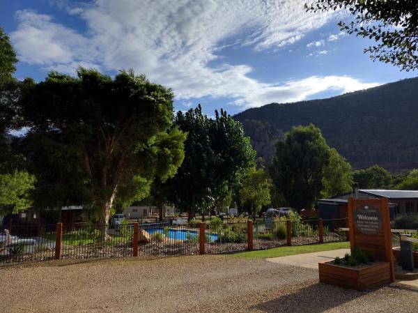 酒店图片: Halls Gap Lakeside Tourist Park, 霍尔斯加普