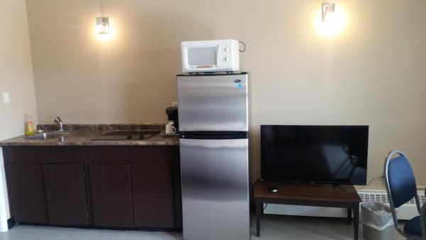Einzelzimmer mit küchenzeile