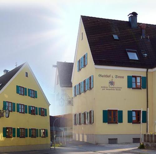 Hotelbilleder: Gasthof zur Sonne, Jettingen-Scheppach