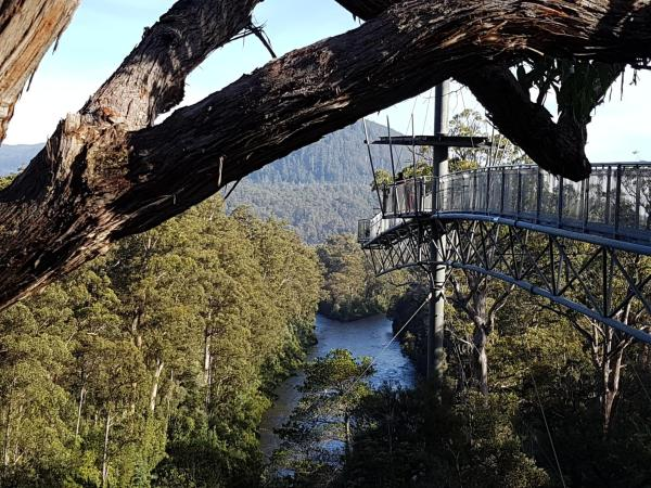 Fotografie hotelů: Tahune AirWalk Lodge, Geeveston