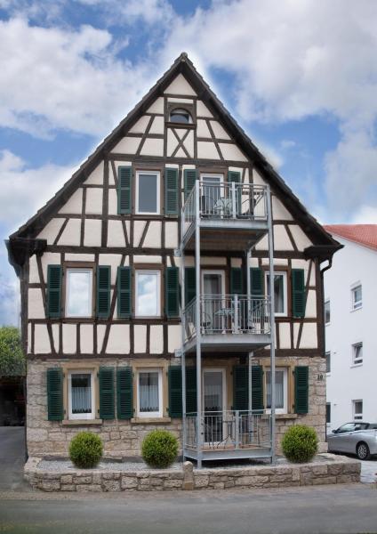 Hotelbilleder: Moserhof-Apartments, Igersheim