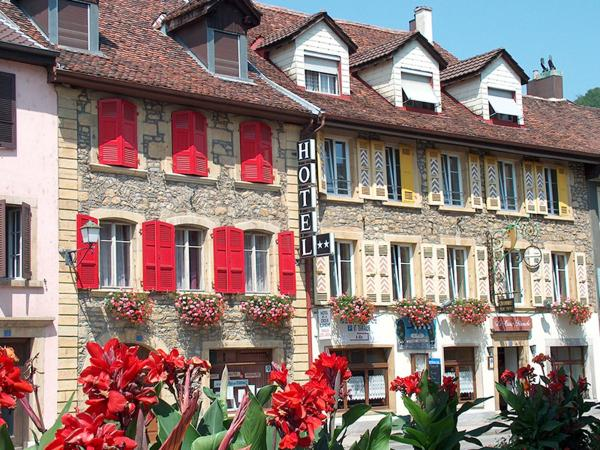 Hotel Pictures: Hôtel de la Croix-Blanche, Cressier