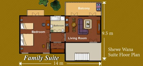 Family Suite (3 Adults)